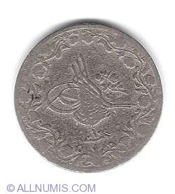 Imaginea #2 a 5/10 Qirsh 1884 (AH 1293)