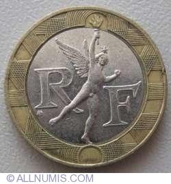 Image #2 of 10 Francs 1988