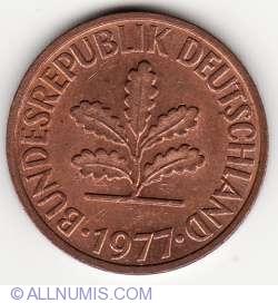 Image #2 of 2 Pfennig 1977 F