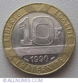 Image #1 of 10 Francs 1990