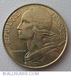 Image #2 of 20 Centimes 1993