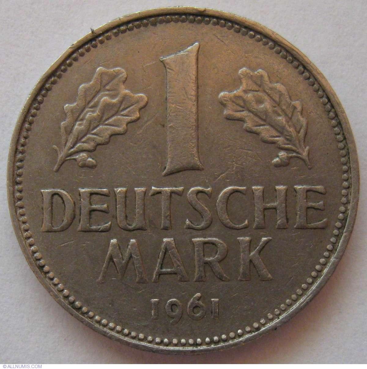 1 Mark 1961 G