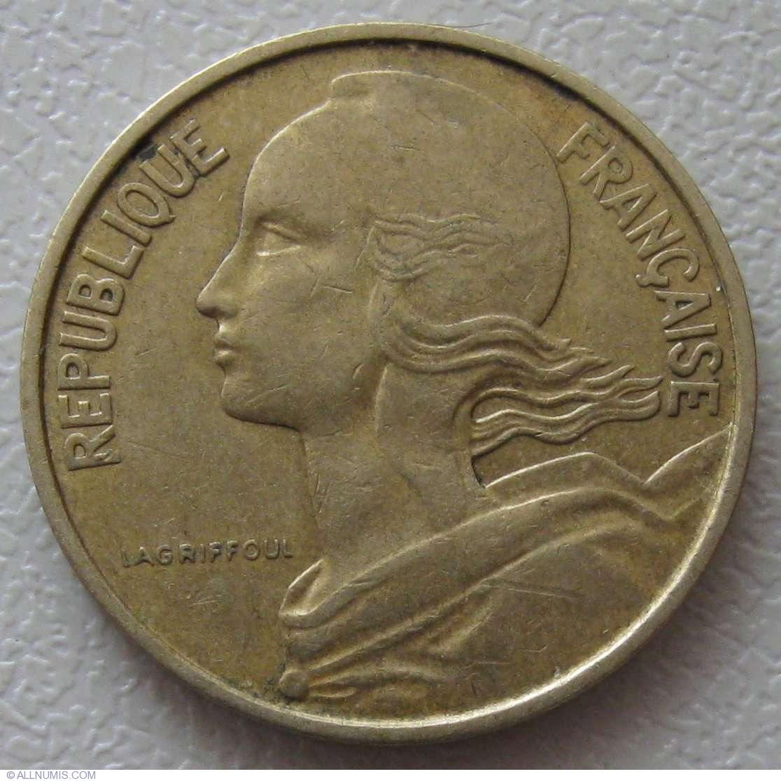 10 Centimes 1963, Fifth Republic (1958-1970)