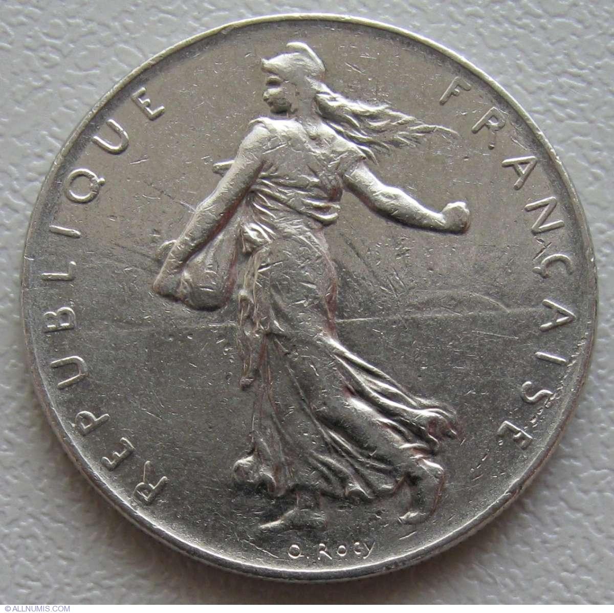 franc coin worth