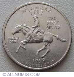 Image #1 of State Quarter 1999 D -  Delaware