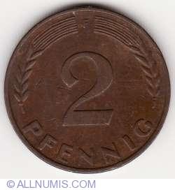 Image #1 of 2 Pfennig 1960 F