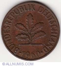 Image #2 of 2 Pfennig 1960 F