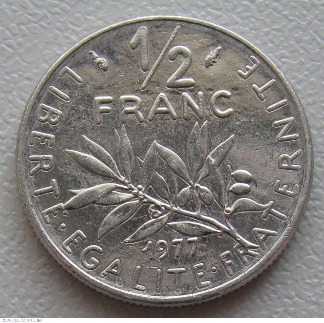 189 Franc 1977 Fifth Republic 1971 1985 France Coin 891