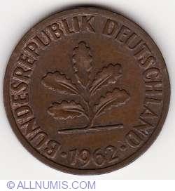 Image #2 of 2 Pfennig 1962 F