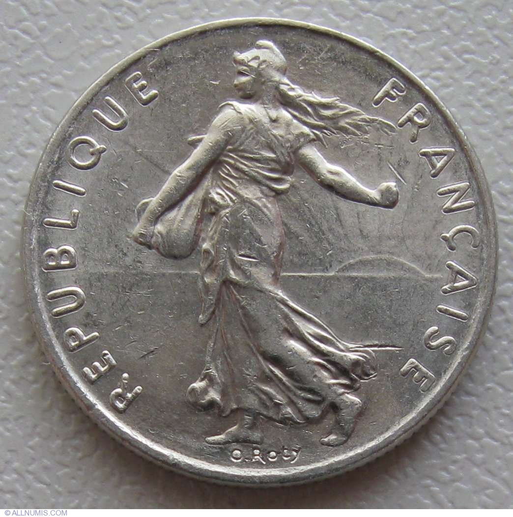 Coin Of 189 Franc 1978 From France Id 892
