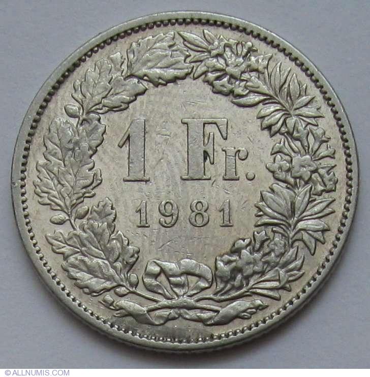 1 Franc 1981