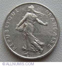 Image #2 of ½ Franc 1991