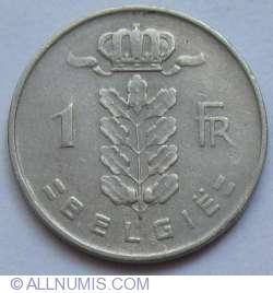 Image #1 of 1 Franc 1951 (Belgie)