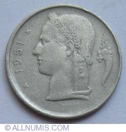 Image #2 of 1 Franc 1951 (Belgie)