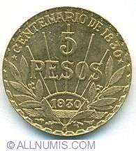 Image #2 of 5 Pesos 1930