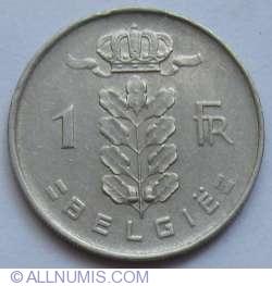 Image #1 of 1 Franc 1952 (Belgie)