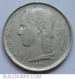 Image #2 of 1 Franc 1952 (Belgie)