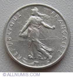 Image #2 of ½ Franc 1968