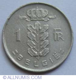 Image #1 of 1 Franc 1953 (Belgie)