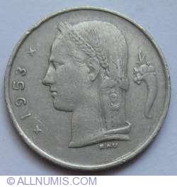Image #2 of 1 Franc 1953 (Belgie)