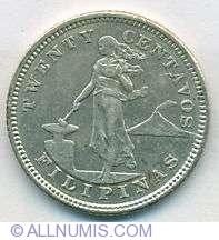Imaginea #1 a 20 Centavos 1904