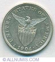 Imaginea #2 a 20 Centavos 1904