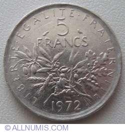 Image #1 of 5 Francs 1972
