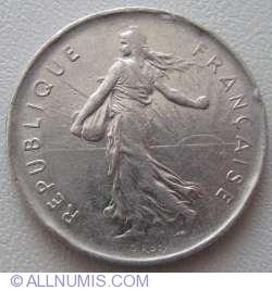 Image #2 of 5 Francs 1972