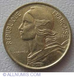 Image #2 of 5 Centimes 1992