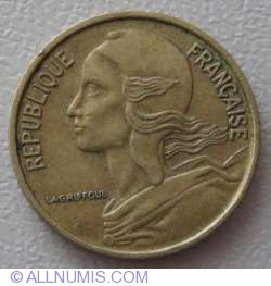 Image #2 of 5 Centimes 1968