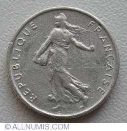 Image #2 of ½ Franc 1969