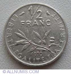 Image #1 of ½ Franc 1970