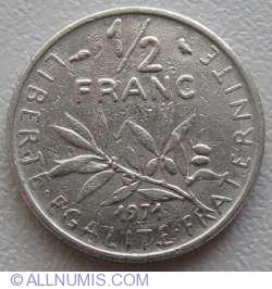Imaginea #1 a ½ Franc 1971