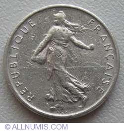 Imaginea #2 a ½ Franc 1971