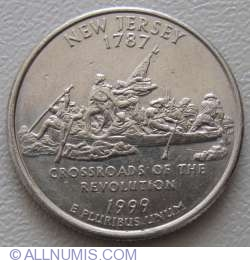 Image #1 of State Quarter 1999 D -  New Jersey