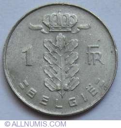 Imaginea #1 a 1 Franc 1971 (Belgie)