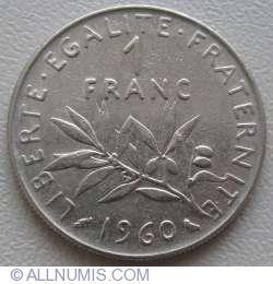 Image #1 of 1 Franc 1960