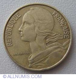 Image #2 of 20 Centimes 1964