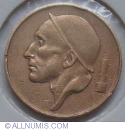 Image #2 of 50 Centimes 1953 (Belgique)