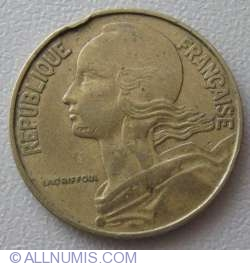 Image #2 of 20 Centimes 1969