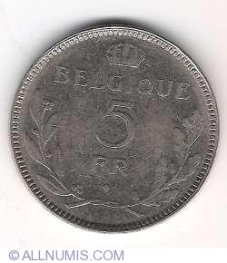 Image #2 of 5 Francs 1936 (Belgique)