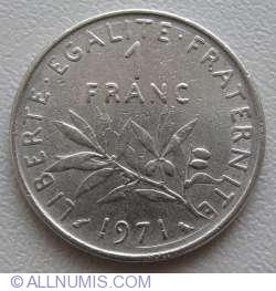 Imaginea #1 a 1 Franc 1971