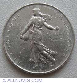Imaginea #2 a 1 Franc 1971