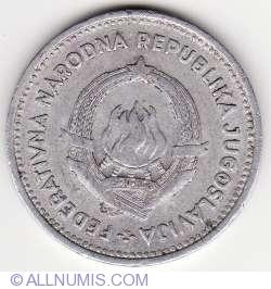 Imaginea #2 a 2 Dinari 1953