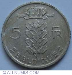 Imaginea #1 a 5 Franci 1971 (Belgique)