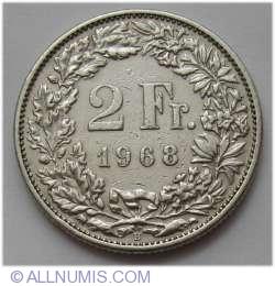 Imaginea #1 a 2 Franci 1968 B