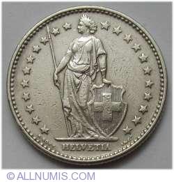 Imaginea #2 a 2 Franci 1968 B