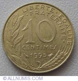 Image #1 of 10 Centimes 1995