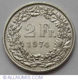 Image #1 of 2 Francs 1974