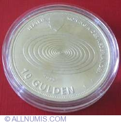Image #1 of 10 Gulden 1999 - New Millenium